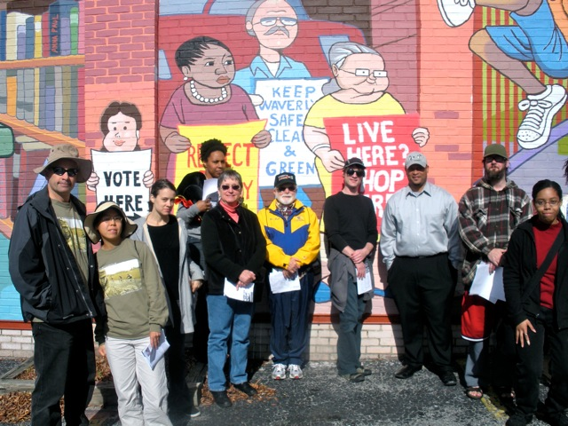 Walking Tour, Waverly Mural